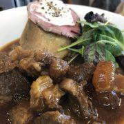 2月の限定麺「ビーフシチューラーメン」